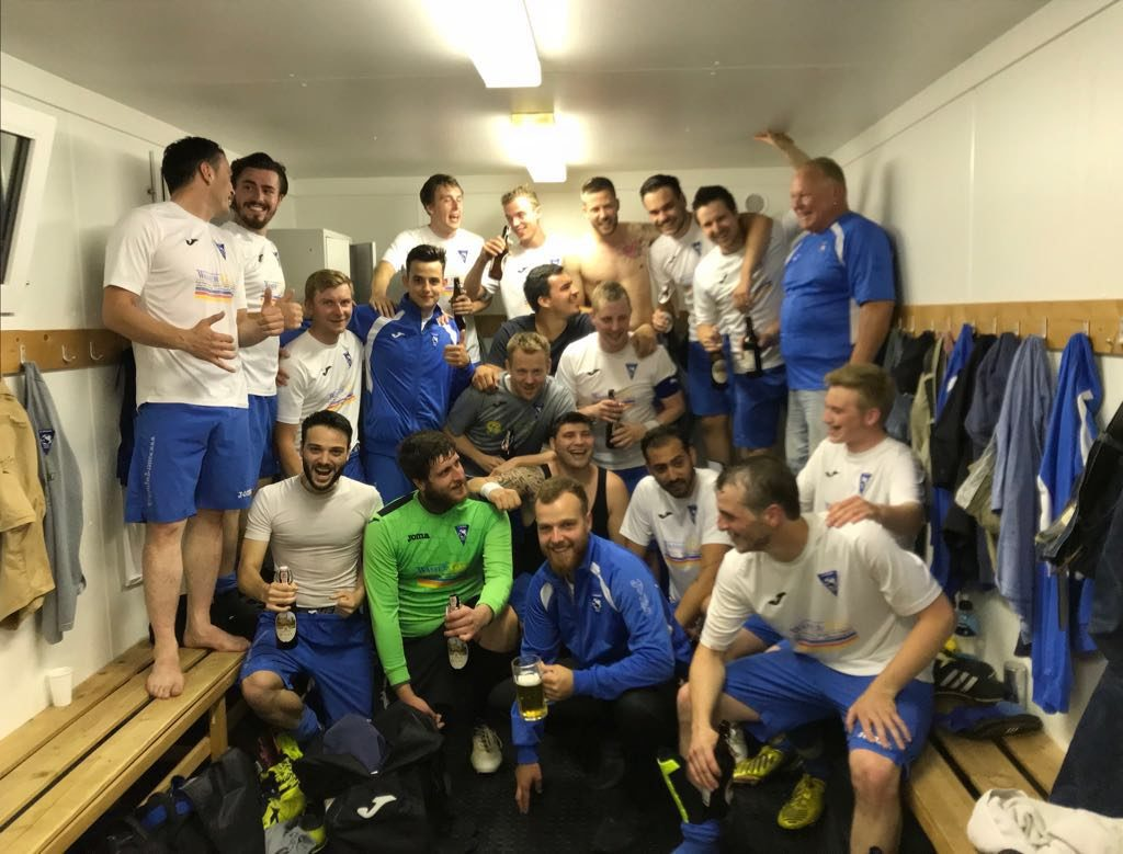 Aufstieg der 2. Mannschaft in die 4. Liga 2018